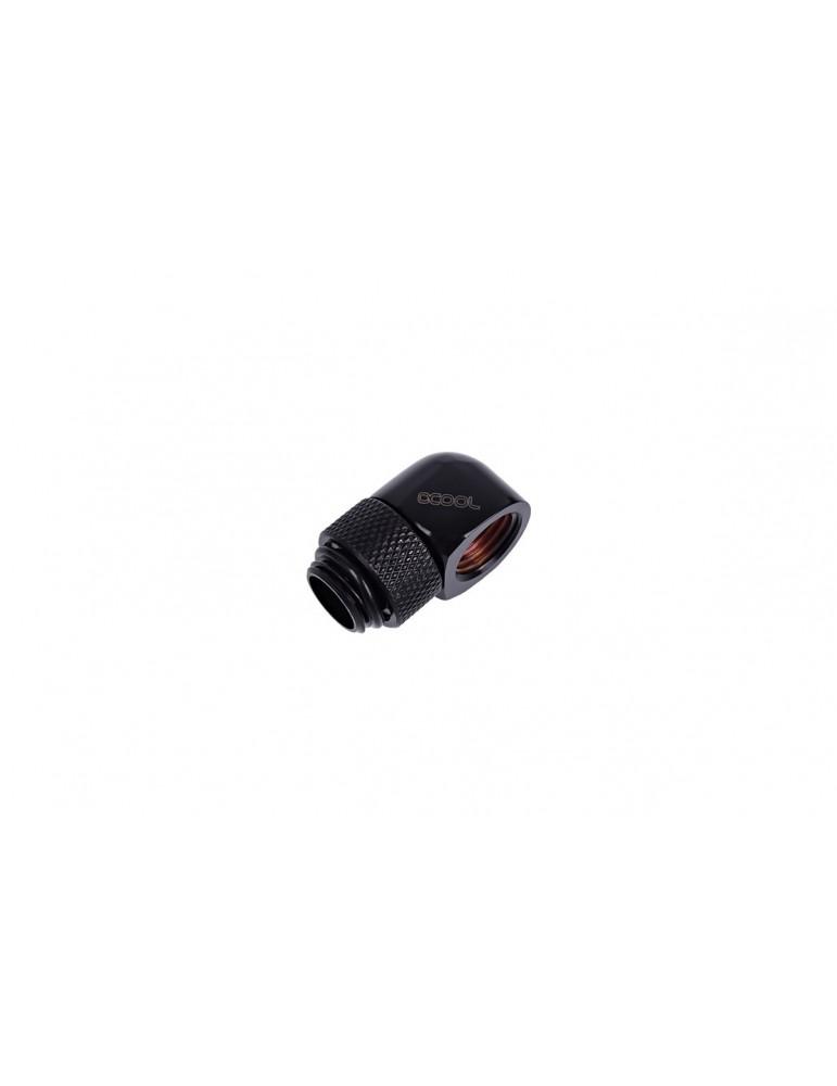 Alphacool HF Adattatore a L G1/4 M/F - Ruotabile - Black