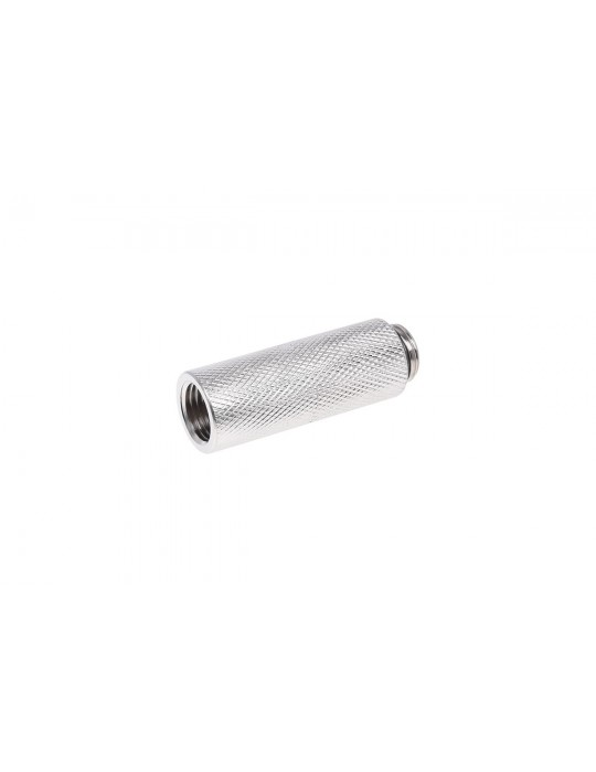 Extension G1/4 G1/4 50mm - Silver Nickel Phobya - 2