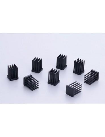 Enzotech dissipatori RAM MOS-C10-LE - passive - black - 10 pz.