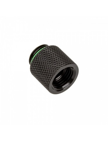 Bitspower Adattatore 1/4G M/F - 15mm - Matt Black