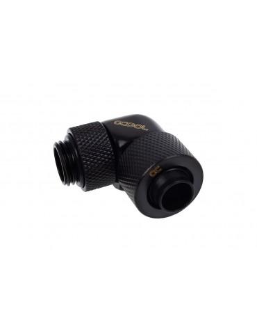 Alphacool raccordo compressione 10/13mm 90° ruotabile G1/4 - deep black