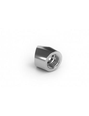 EK-AF Angled 45° 2F G1/4 - Nickel