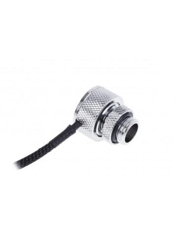 Alphacool Eiszapfen Sensore di temperatura G1/4 F/F con adattatore M/F - Chrome