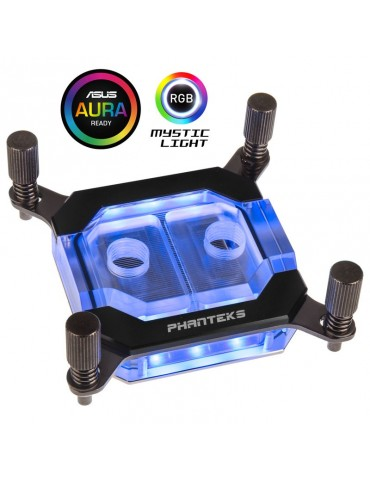 Phanteks C350i CPU Waterblock - RGB, Black - Intel LGA 2011-3/ LGA 115X