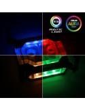 Phanteks C350i CPU Waterblock - RGB, Black - Intel LGA 2011-3/ LGA 115X