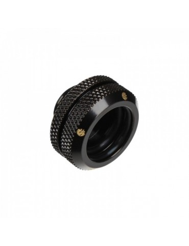 Bitspower raccordo a compressione per tubo rigido 12/16mm - matt black