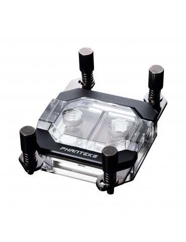 Phanteks C350A CPU Waterblock - RGB, Black AMD