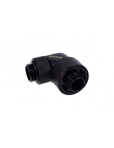 Alphacool raccordo compressione 10/16mm 90° ruotabile G1/4 - chrome - Eiszapfen
