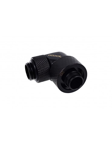 Alphacool raccordo compressione 10/16mm 90° ruotabile G1/4 - Deep Black - Eiszapfen