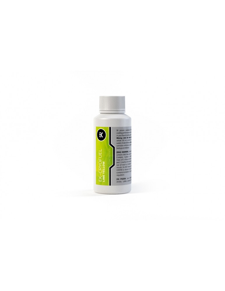EK-CryoFuel Lime Yellow (Concentrato 100ml)
