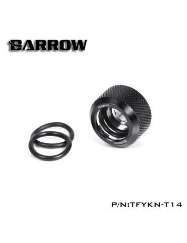 Barrow Raccordo per tubo rigido 10/14 - TFYKN-T14 - Black