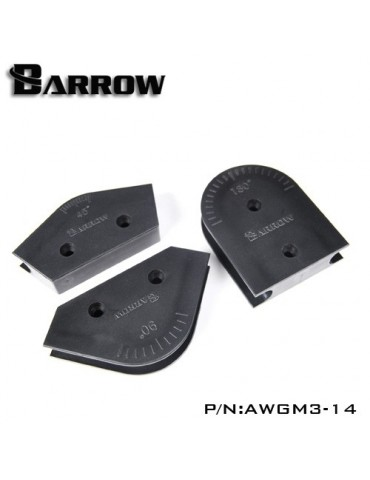 Barrow AWGM3-14 Kit in ABS piegatubi rigidi 14mm OD