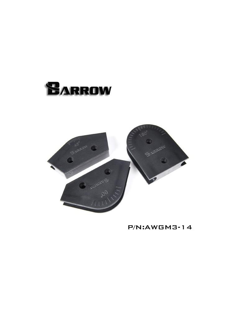 Barrow AWGM3-14 Kit in ABS piegatubi rigidi 14mm OD