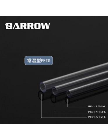 Barrow Tubo rigido PETG 10/14 - 500mm - PG1410-L
