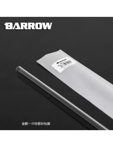 Barrow Tubo rigido PETG ad Alte Temprature 12/16 - 500mm - PG1612