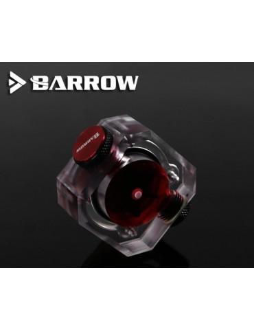 """Barrow SLF-V3 Flussimetro - 2*G1/4"""" F - Nero"""