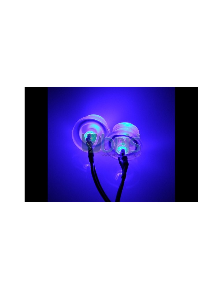LED 3mm twin ultra bright BLUE Ybris-Cooling - 2