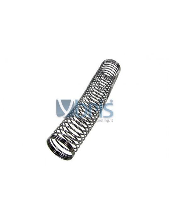 Molla Acciaio ID16mm L100 Black Nickel Phobya - 1