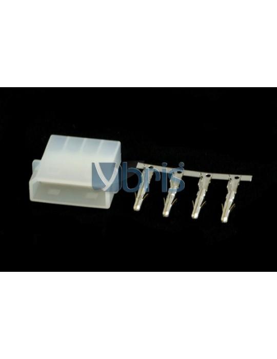 Molex Femmina  bianco (1 pz) Ybris-Cooling - 1