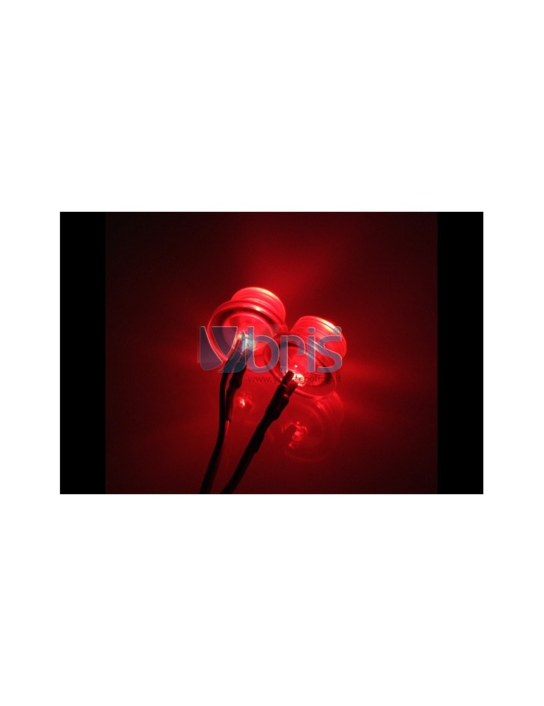 LED 5mm twin ultra bright RED Ybris-Cooling - 2