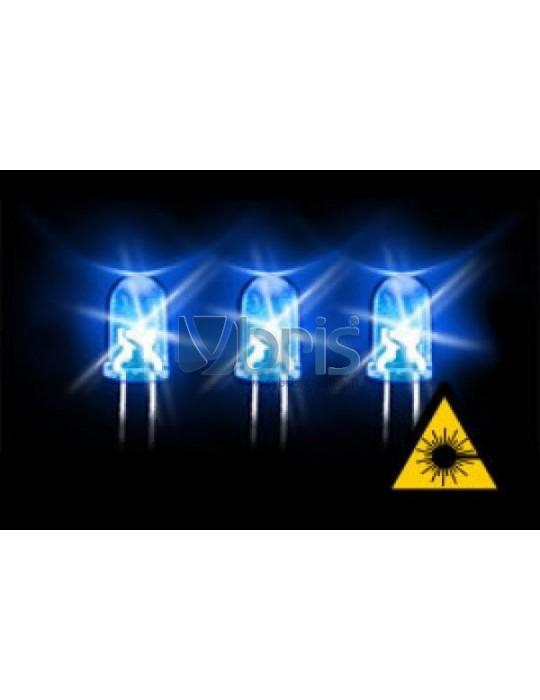 LED 3mm ultra bright BLUE Ybris-Cooling - 1