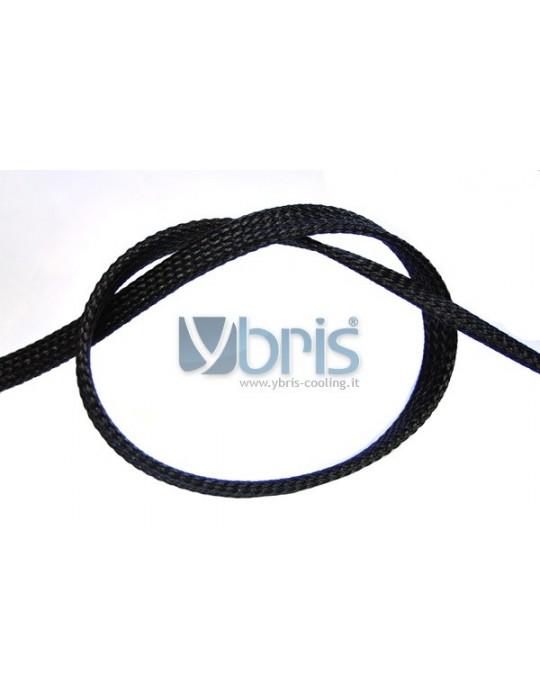 "Phobya Flex Sleeve 10mm (3/8"") Black 1m Phobya - 1"