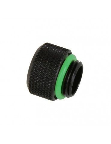 Bitspower raccordo per tubo rigido 10/12mm - matt black