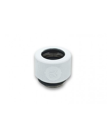 EK-HDC Raccordo per tubo rigido 12mm G1/4 - White