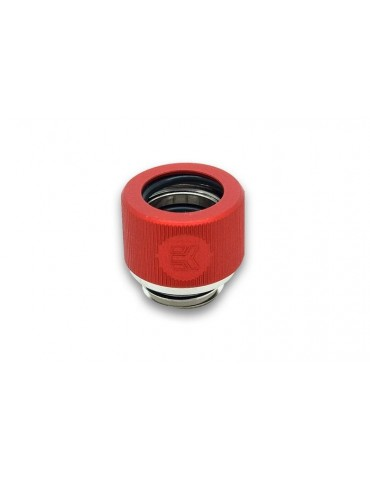 EK-HDC Raccordo per tubo rigido 12mm G1/4 - Red