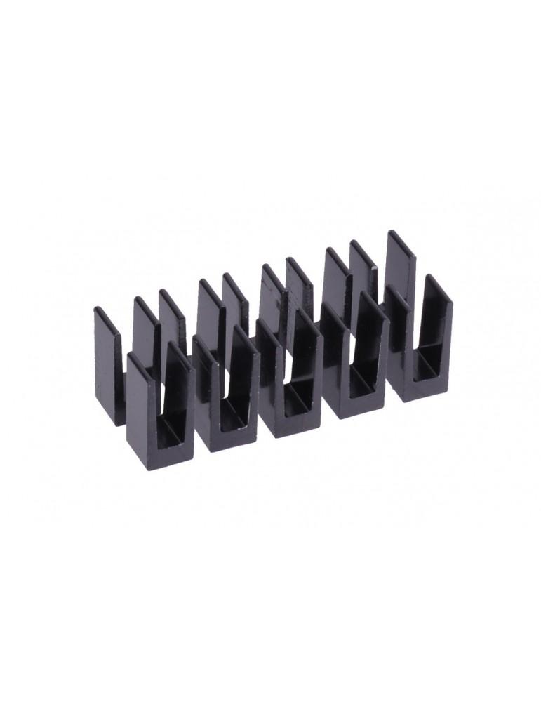 Alphacool kit dissipatori GPU 7x7mm - black 10 pz.