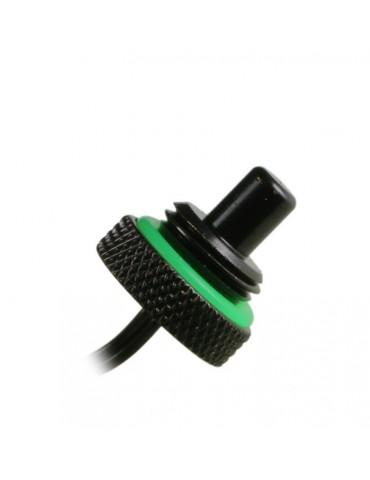 Bitspower Sensore di temperatura attacco 1/4G - matt black