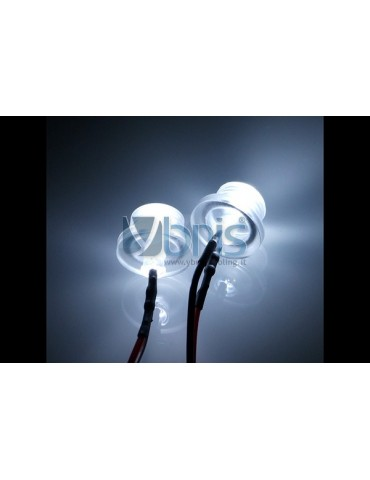 LED ready Twin 3mm ultra-bright white