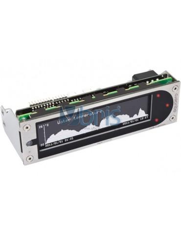 Aquacomputer aquaero 6 XT USB fan controller, LCD, touch control, IR remote control