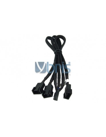 Phobya Y-cable 4Pin PWM to 3x 4Pin PWM 30cm black