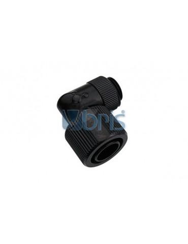 Koolance Raccordo compr. 1/4G 13/16mm 90°Deep Black NZL-L13-BK