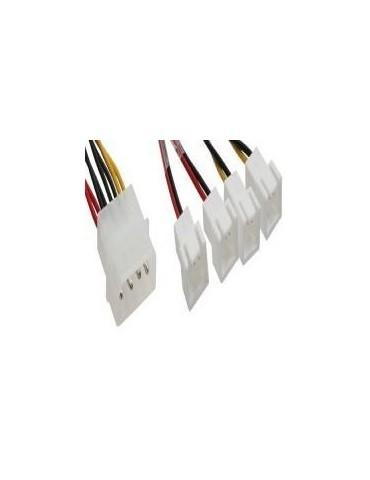 InLine Cavo riduttore tensione alimentazione ventole da 2x 12V a 2x 5V, Supporta