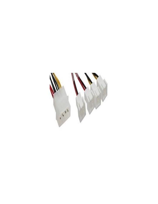 InLine Cavo riduttore tensione alimentazione ventole da 2x 12V a 2x 5V InLine - 2