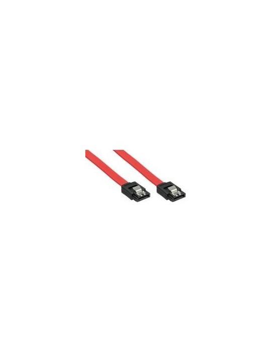 InLine Cavo SATA 7pin L-Form a SATA 7pin L-Form, Max 3Gbs, chiusura a scatto, ro InLine - 1
