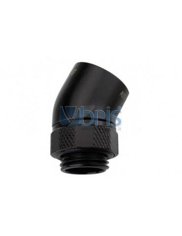 Koolance adattatore 1/4G - 1/4G 30° ruotabile BLACK ADT-DXG30-BK