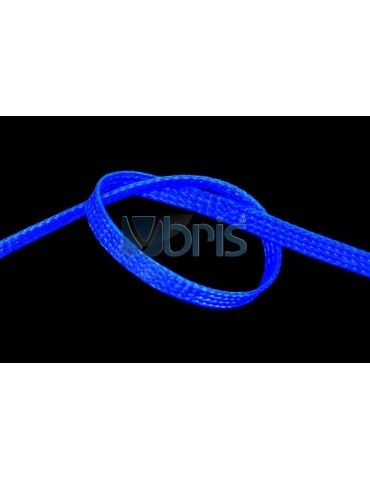Phobya Flex Sleeve 6mm UV Blue 1m