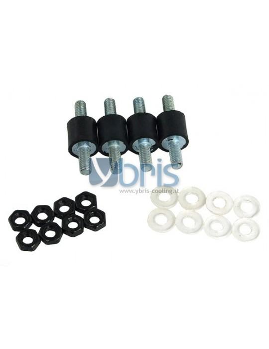 Alphacool kit 4 cuscinetti gomma antivibrazione Alphacool - 1