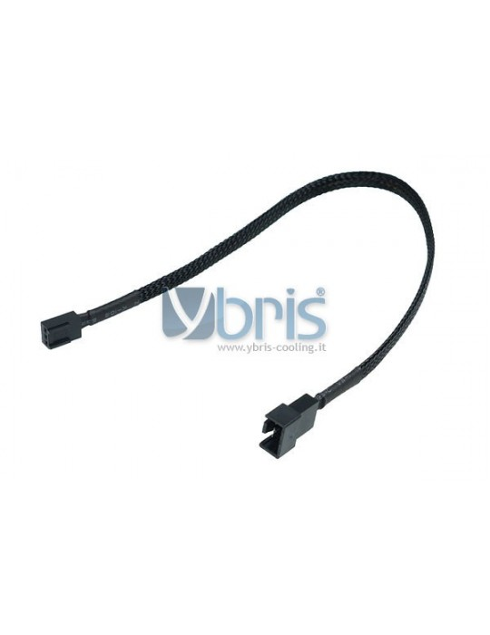 Phobya adaptor 4Pin PWM plug  3Pin femmina 30cm - black Phobya - 1