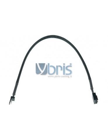 Phobya adaptor 3Pin plug 4Pin PWM femmina 30cm black