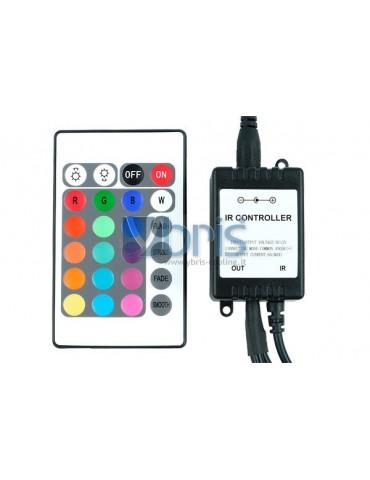 Phobya LED-Flexlight RGB controller with IR-Remote controller