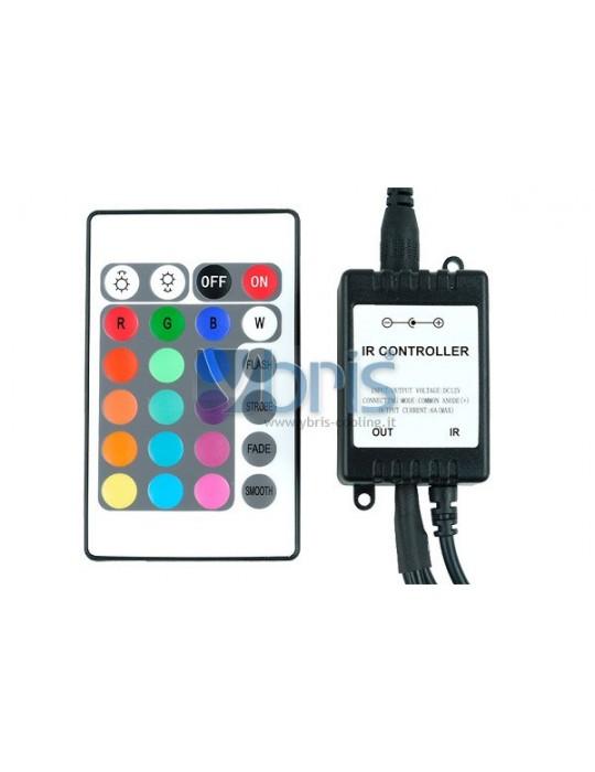 Phobya LED-Flexlight RGB controller with IR-Remote controller Phobya - 4