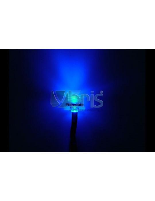 Phobya LEDready Twin 5mm Ultra-bright blue 30cm - black Phobya - 2