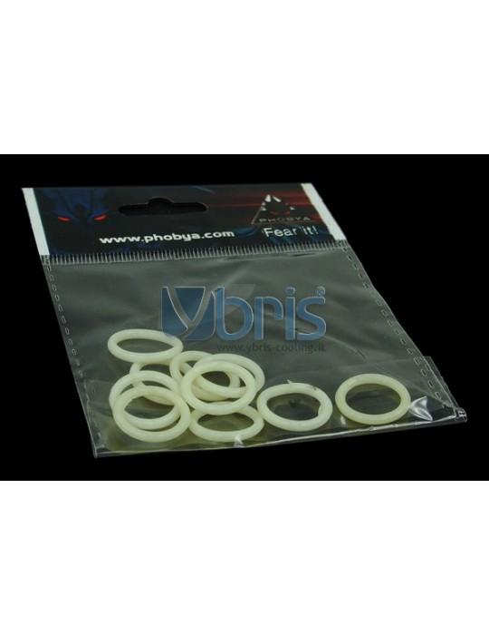 Phobya O-ring 11,1 x 2 mm (G1/4 Inch)  UV-reactive White 10pcs Phobya - 8