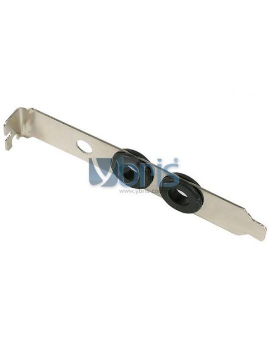 Slot Cover PCI con passaparete gomma per tubi 8/10 mm Ybris-Cooling - 1