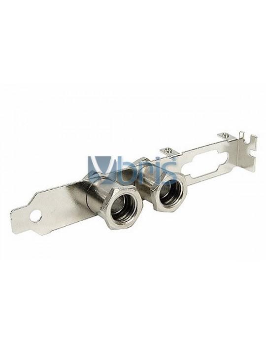 Slot Cover PCI con passaparete 1/4G F Ybris-Cooling - 1
