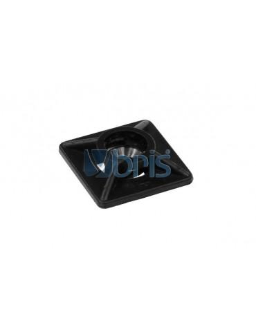 Clip Fermacavi adesivo Black
